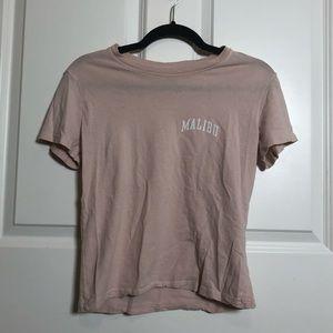 Brandy Melville Malibu Tee Shirt